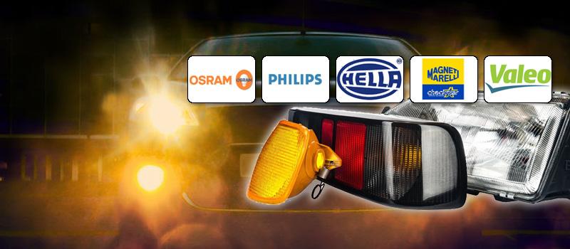Fahrzeugbeleuchtung anzeigen