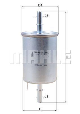 Kraftstofffilter - KL 470