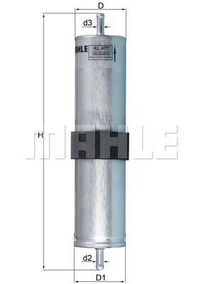 Kraftstofffilter - KL 477