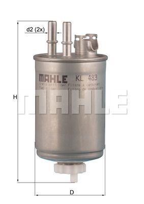 Kraftstofffilter - KL 483