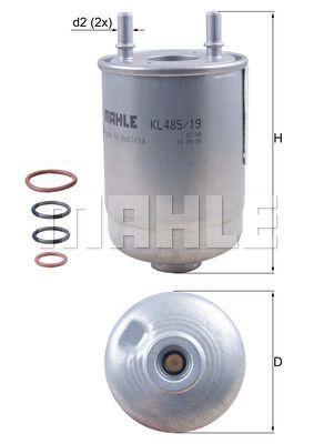 Kraftstofffilter - KL 485/19D