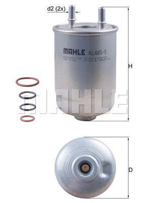Kraftstofffilter - KL 485/5D