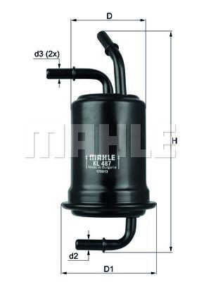 Kraftstofffilter - KL 487