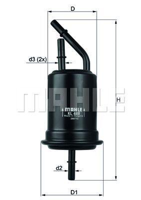 Kraftstofffilter - KL 488