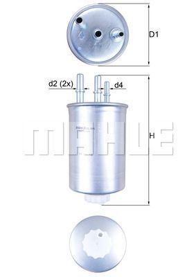 Kraftstofffilter - KL 505
