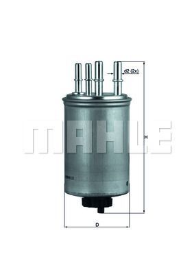 Kraftstofffilter - KL 506