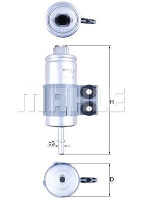Kraftstofffilter - KL 510