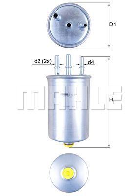 Kraftstofffilter - KL 511