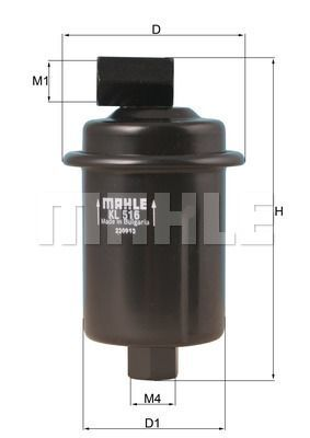 Kraftstofffilter - KL 516