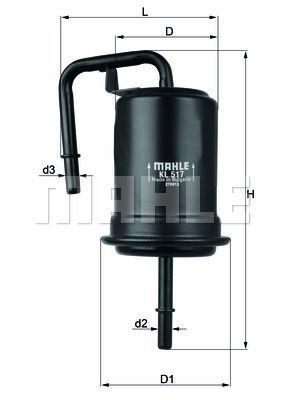 Kraftstofffilter - KL 517