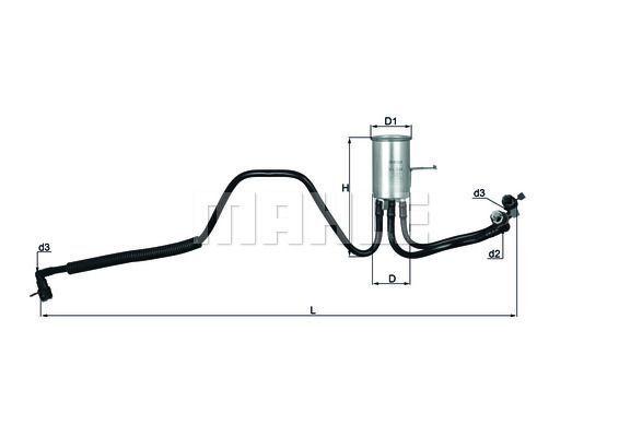 Kraftstofffilter - KL 544