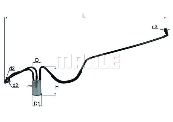 Kraftstofffilter - KL 553