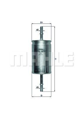 Kraftstofffilter - KL 559