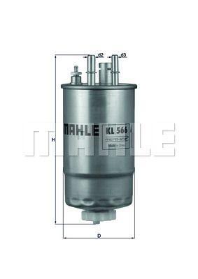 Kraftstofffilter - KL 566