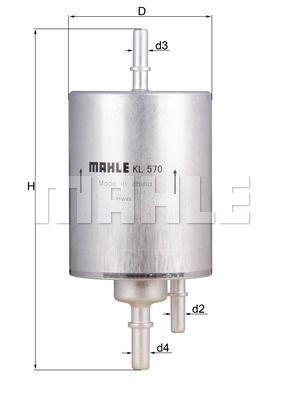 Kraftstofffilter - KL 570