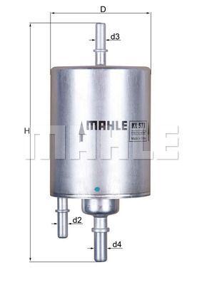 Kraftstofffilter - KL 571