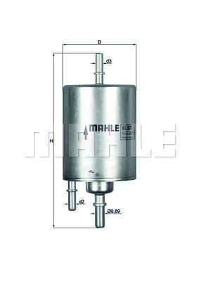 Kraftstofffilter - KL 573
