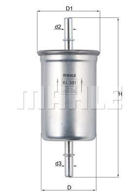 Kraftstofffilter - KL 591