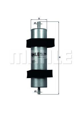 Kraftstofffilter - KL 596