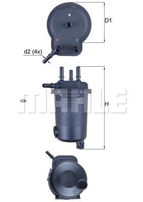 Kraftstofffilter - KL 600D