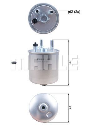 Kraftstofffilter - KL 639D
