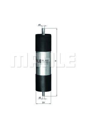 Kraftstofffilter - KL 658