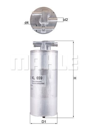 Kraftstofffilter - KL 659