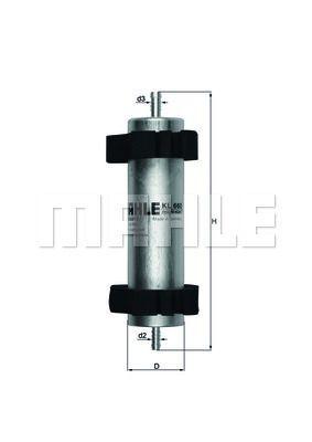 Kraftstofffilter - KL 660