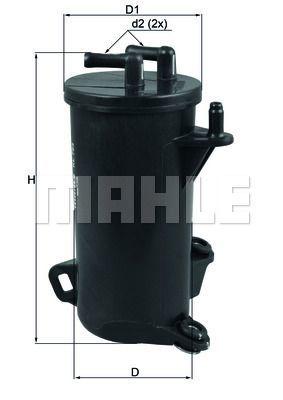 Kraftstofffilter - KL 764D