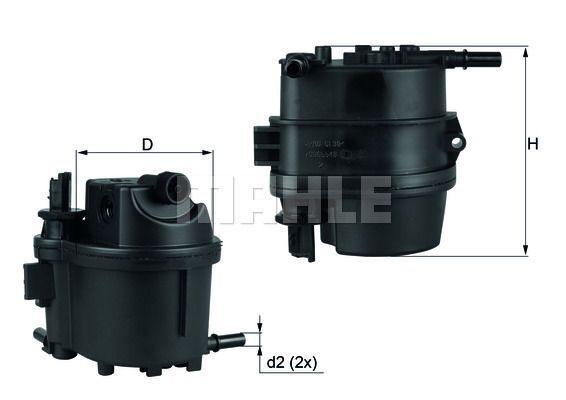Kraftstofffilter - KL 779