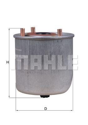 Kraftstofffilter - KL 780
