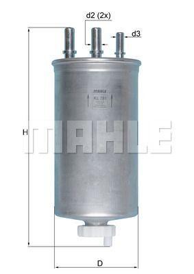 Kraftstofffilter - KL 781