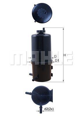 Kraftstofffilter - KL 787