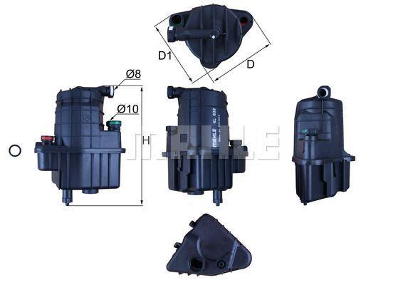 Kraftstofffilter - KL 832D