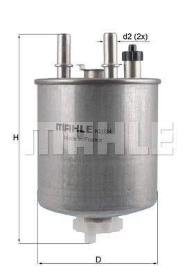 Kraftstofffilter - KL 834