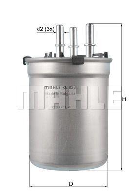 Kraftstofffilter - KL 838