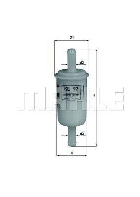 Kraftstofffilter - KL 97 OF