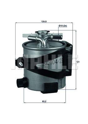 Kraftstofffilter - KLH 44/22