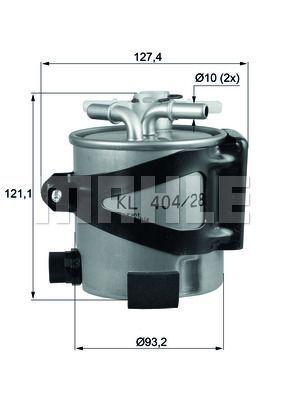 Kraftstofffilter - KLH 44/25