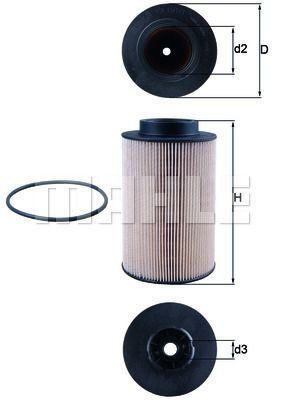 Kraftstofffilter - KX 191/1D