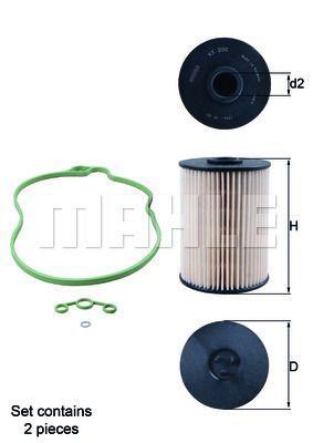Kraftstofffilter - KX 200D/S