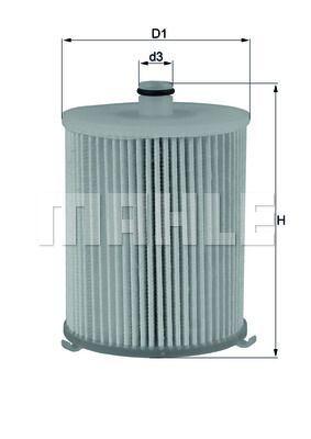 Kraftstofffilter - KX 245/4D