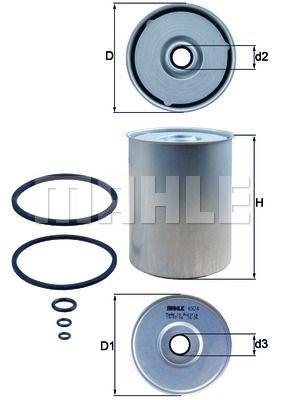 Kraftstofffilter - KX 24D