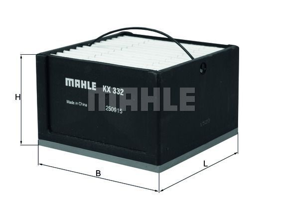 Kraftstofffilter - KX 332