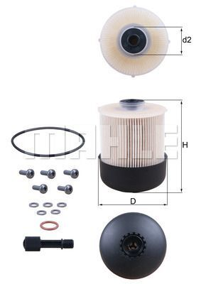 Kraftstofffilter - KX 338/28D