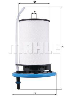 Kraftstofffilter - KX 398