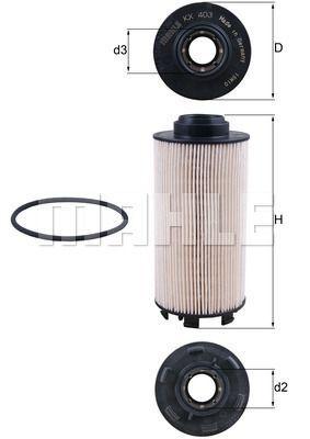 Kraftstofffilter - KX 403D