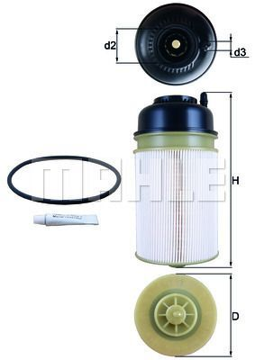 Kraftstofffilter - KX 406D