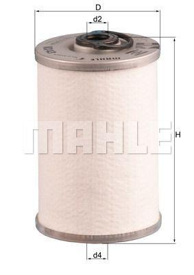 Kraftstofffilter - KX 43