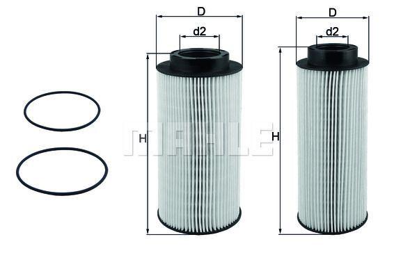 Kraftstofffilter - KX 439KIT